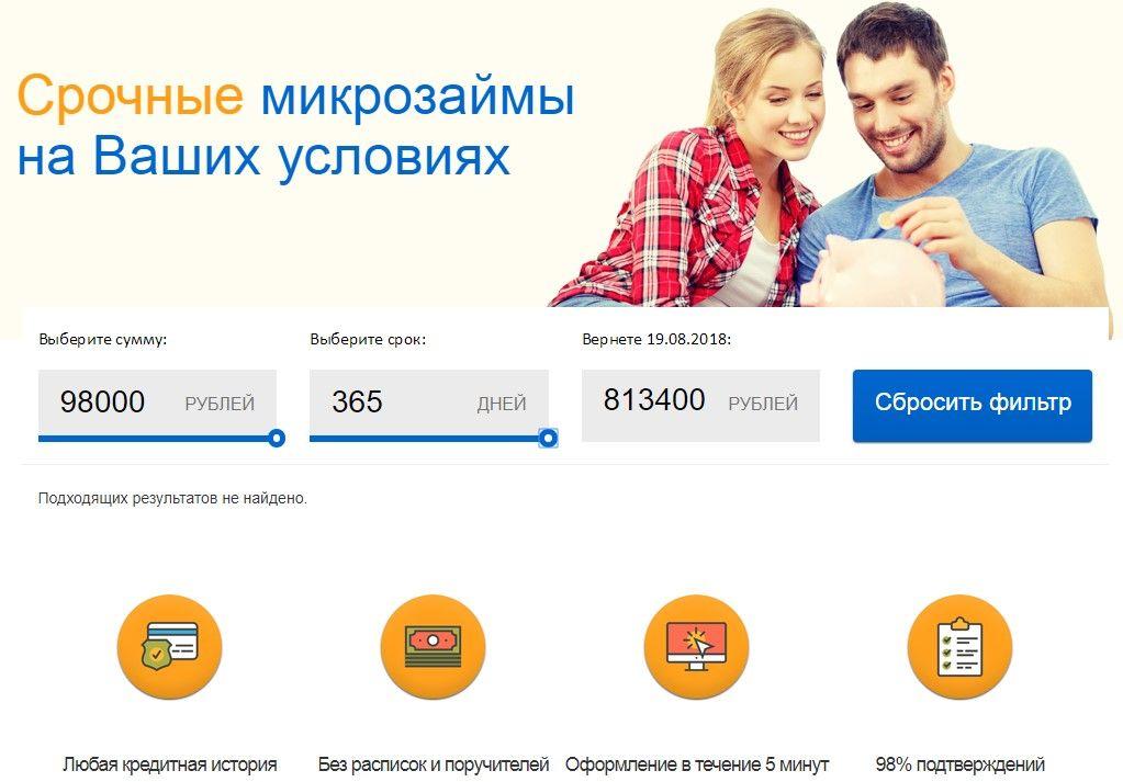 Быстрые онлайн займы на 30000 рублей